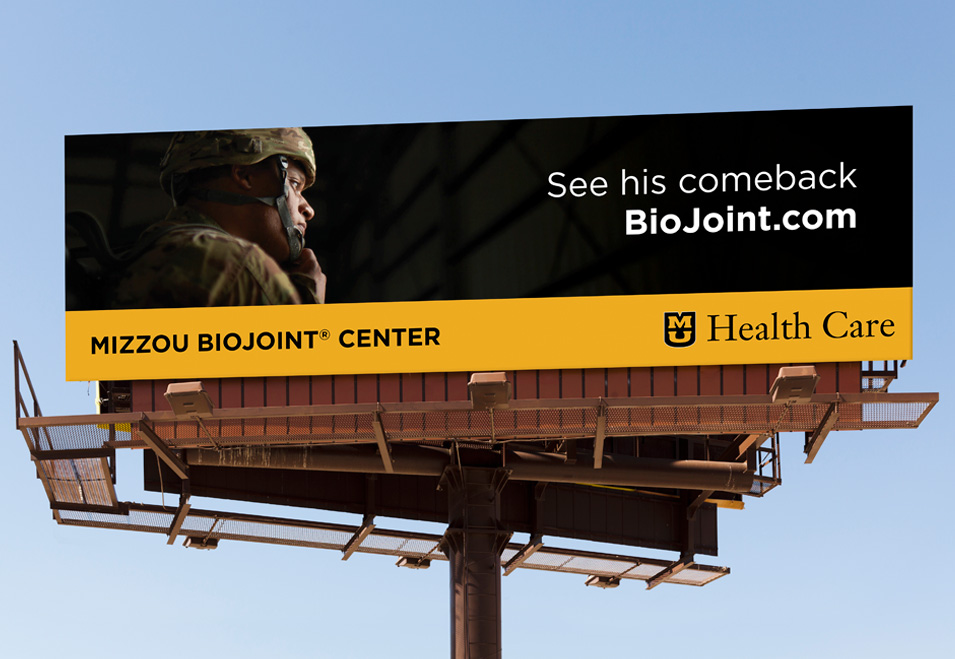 Paratrooper billboard